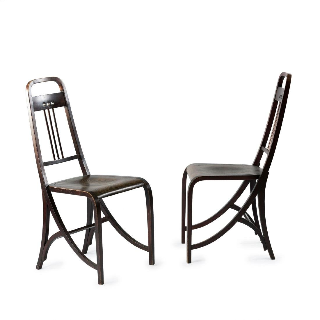 Two '511' chairs, c1905