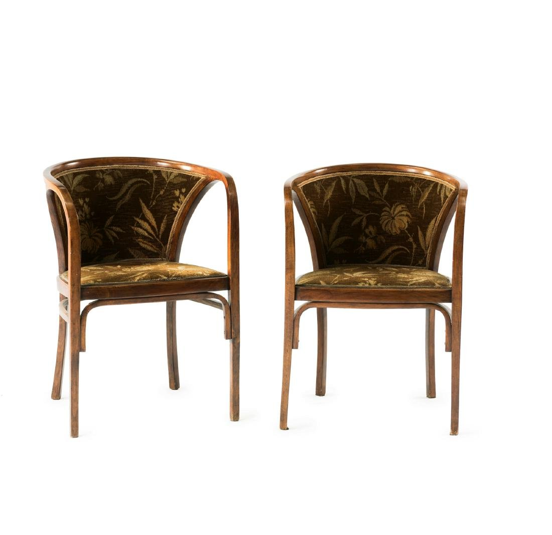 Two armchairs, 1906