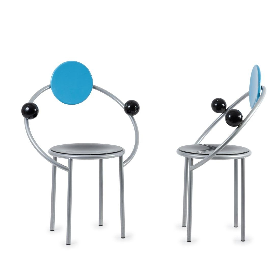 Two 'First' chairs, 1983