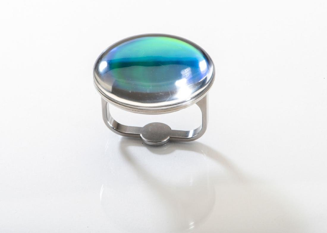 Didactyl ring with hologram, 1993 - 3