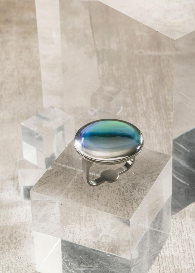 Didactyl ring with hologram, 1993 - 4