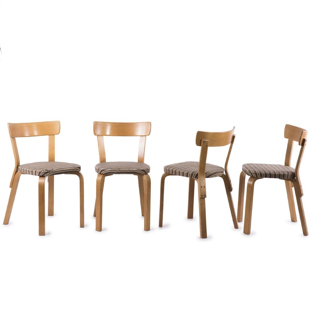 Four '69' chairs, c1933