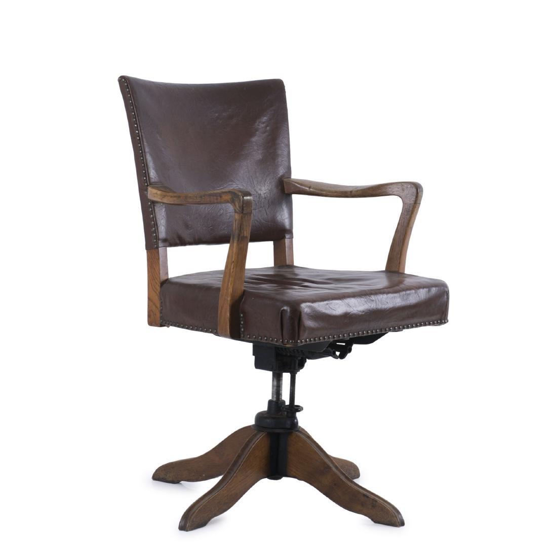 Desk chair, 1940s