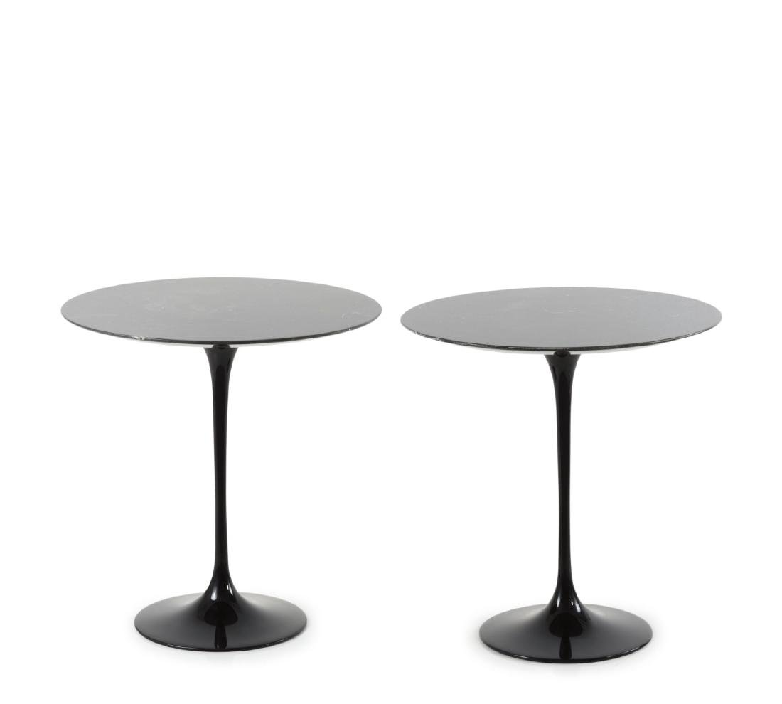 Two '163' end tables, 1957