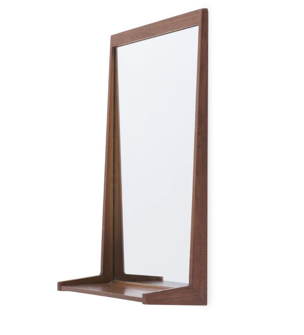 Mirror with shelf, c1958