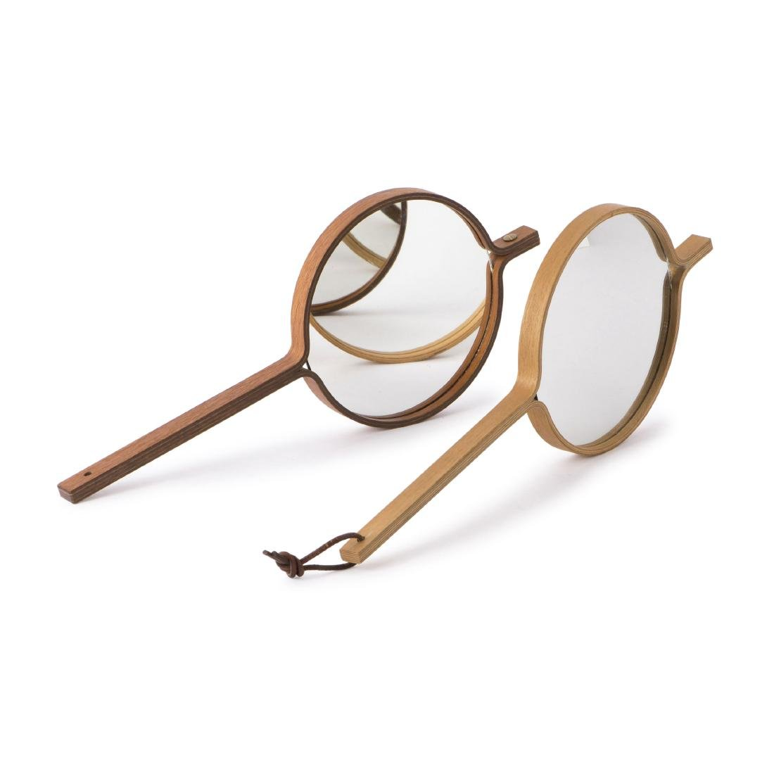 Two hand mirrors, c1958