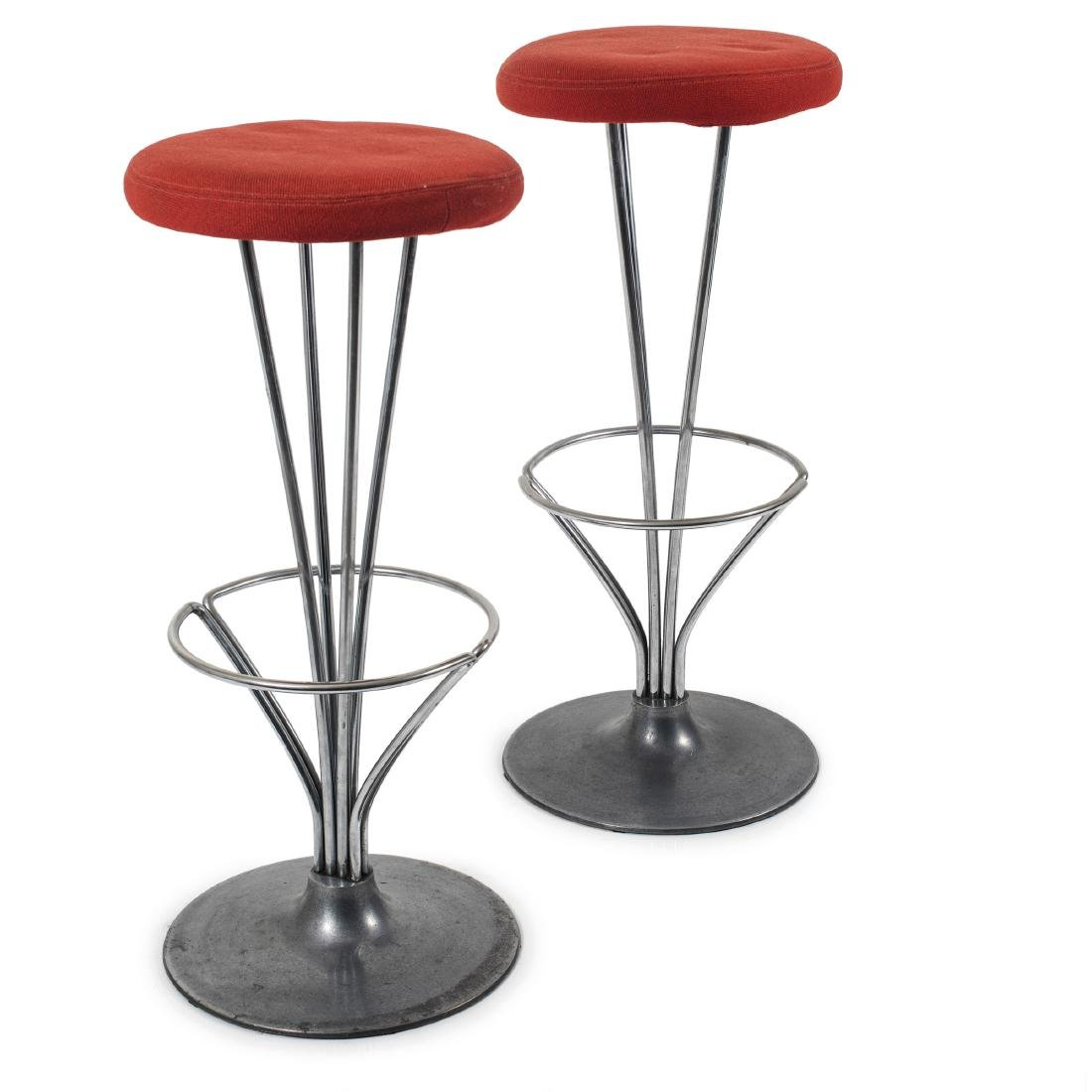 Two barstools, 1961