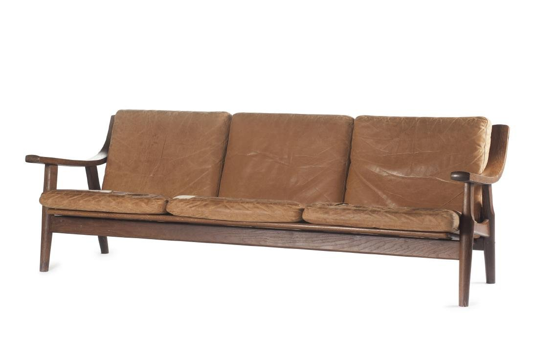 'GE 530' couch, two easy chairs and an ottoman, 1973