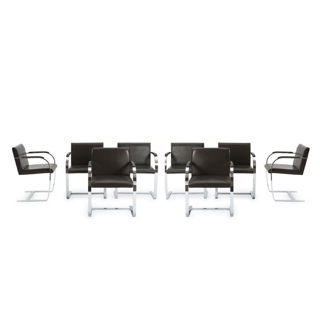 Eight 'Brno' armchairs, 1929/30