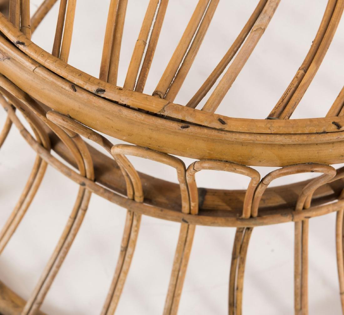 Wicker chair, c1950 - 2