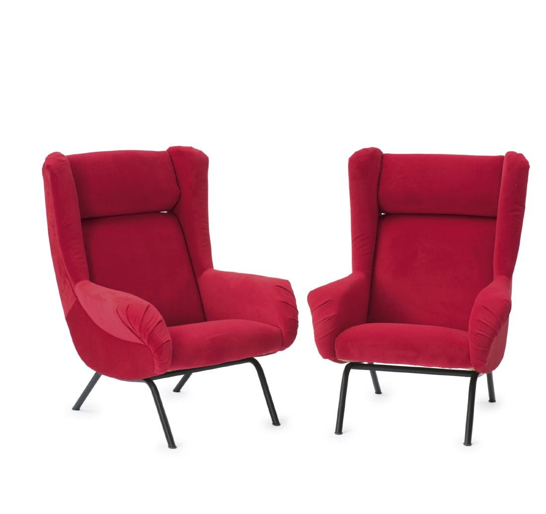 Two armchairs, 1950s