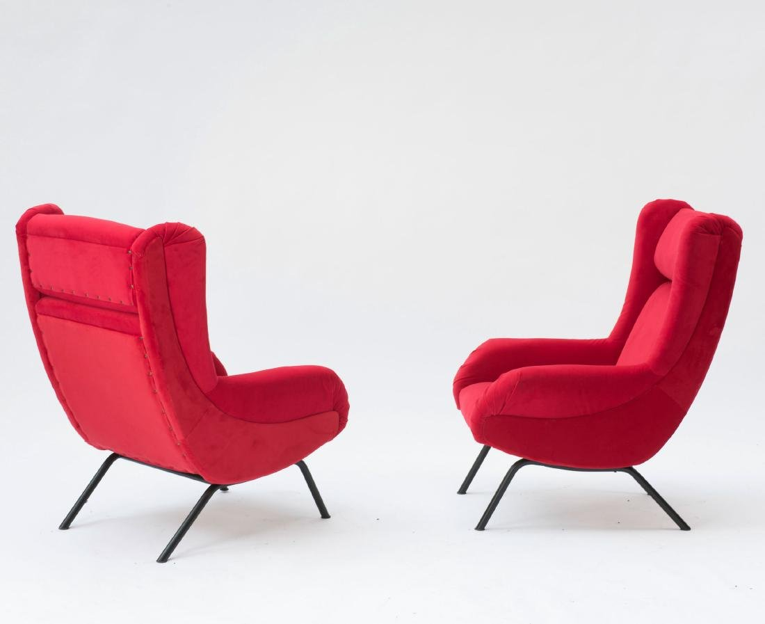 Two armchairs, 1950s - 2