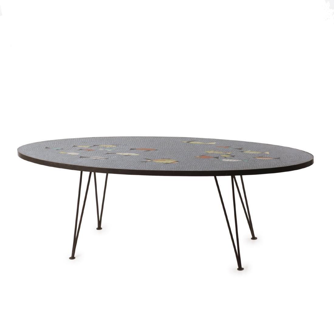 'Fish' coffee table, c1955