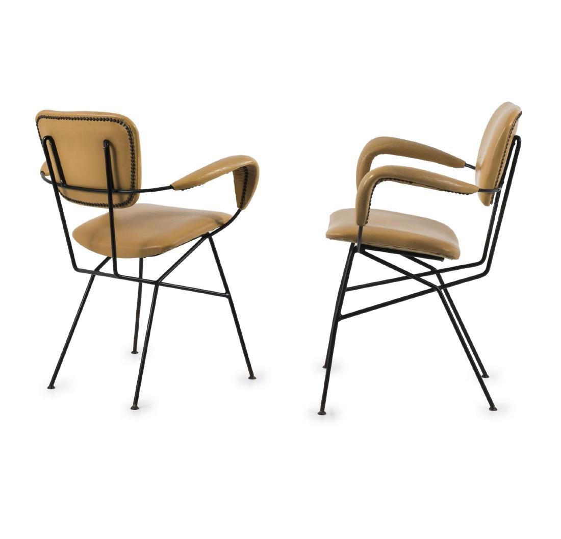 Two 'Cocorita T' armchairs, c1955
