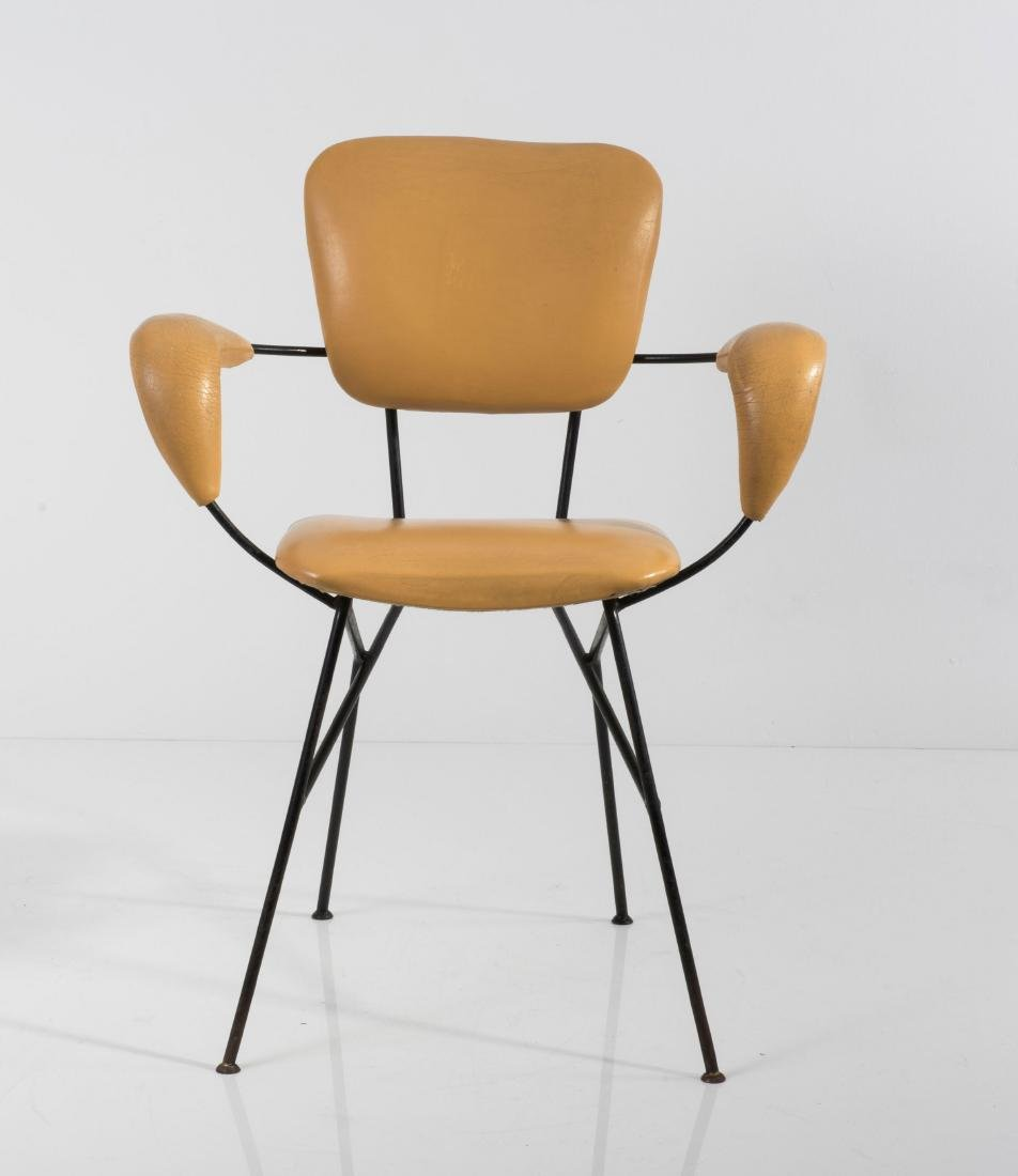 Two 'Cocorita T' armchairs, c1955 - 8