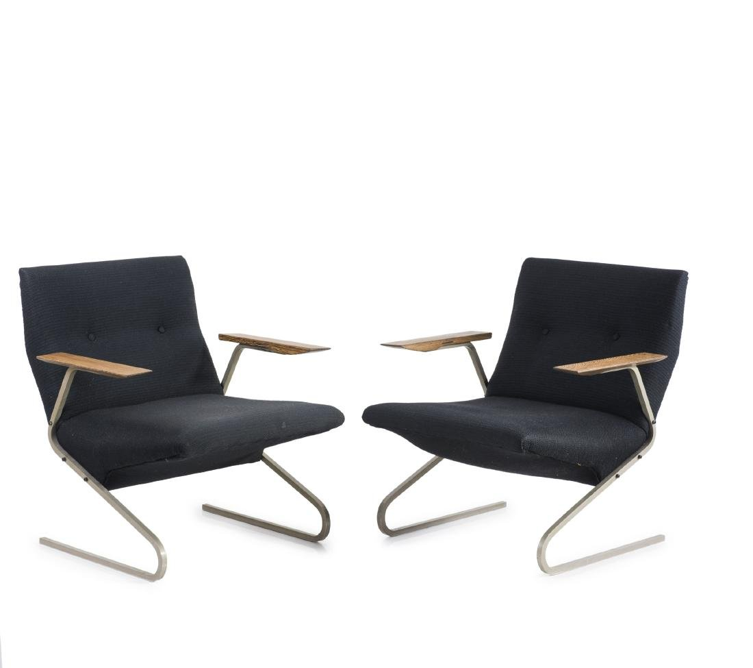 Two armchairs, 1955
