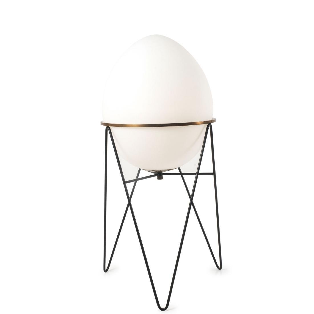 'Egg' floor lamp, c1958 - 3