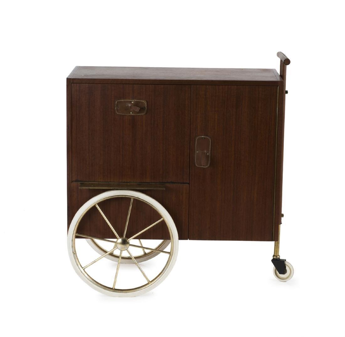 Liquor cart, c1958
