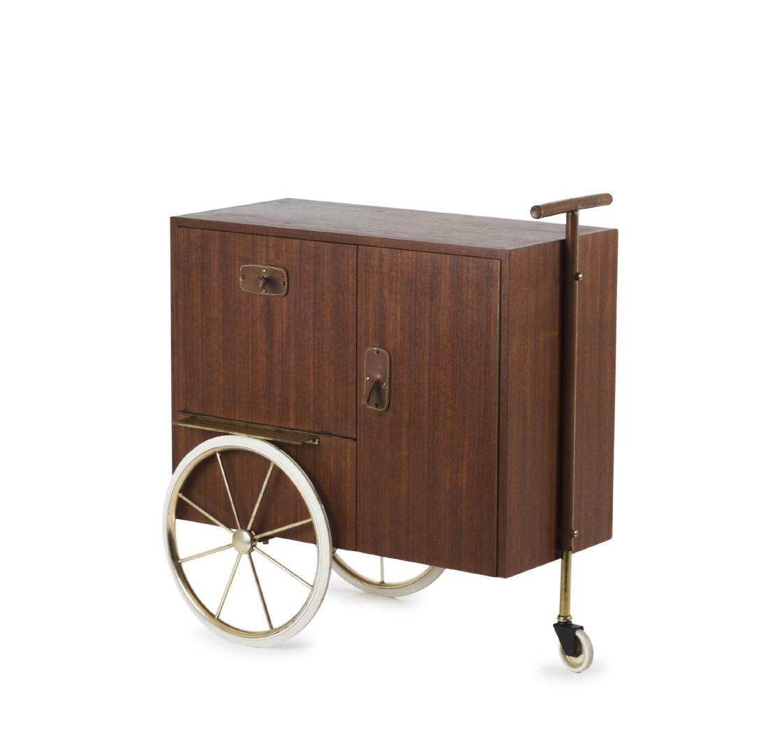 Liquor cart, c1958 - 5