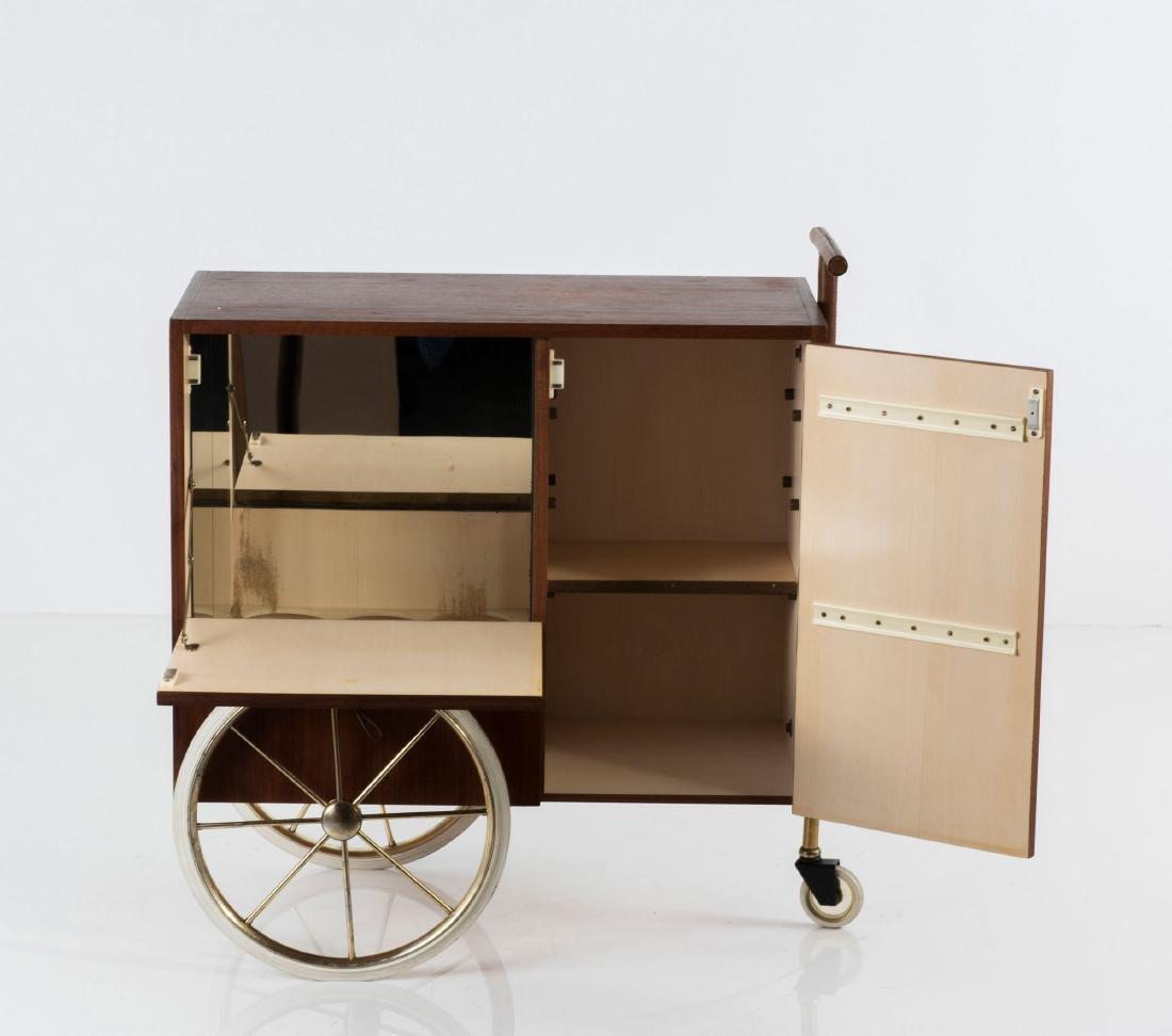 Liquor cart, c1958 - 6