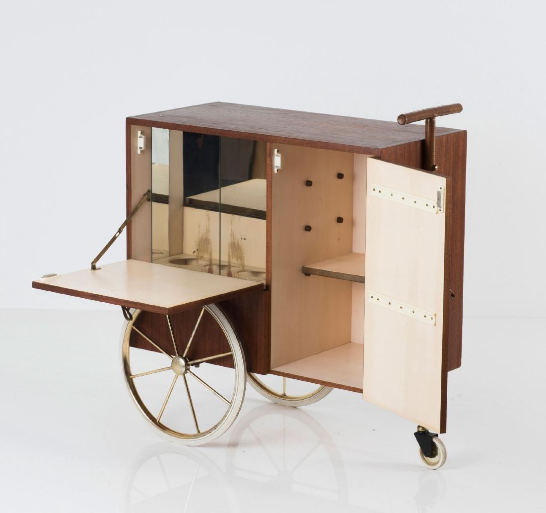 Liquor cart, c1958 - 7