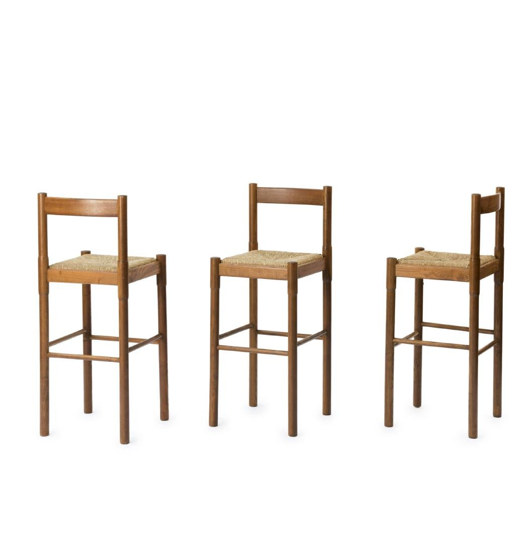 Three barstools, 1960s