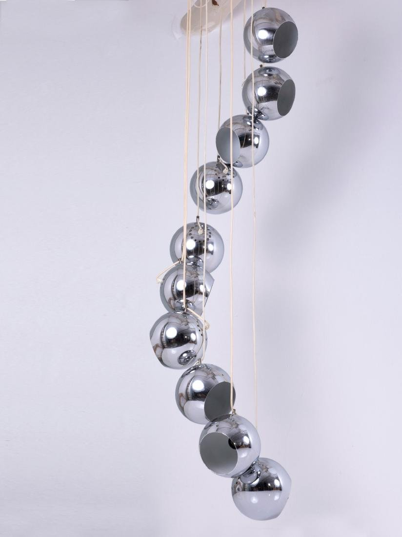 Ceiling light, c1965 - 4