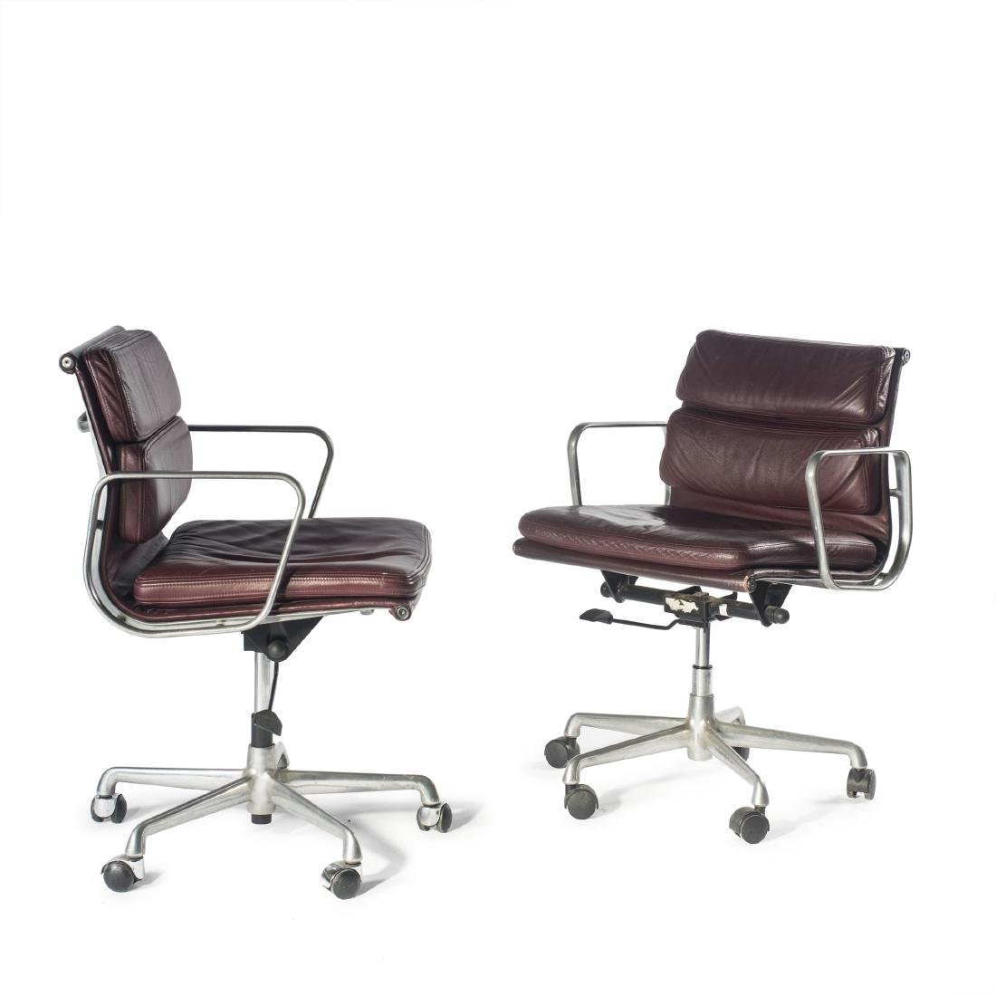 Two 'Soft Pad' office chairs, 1969