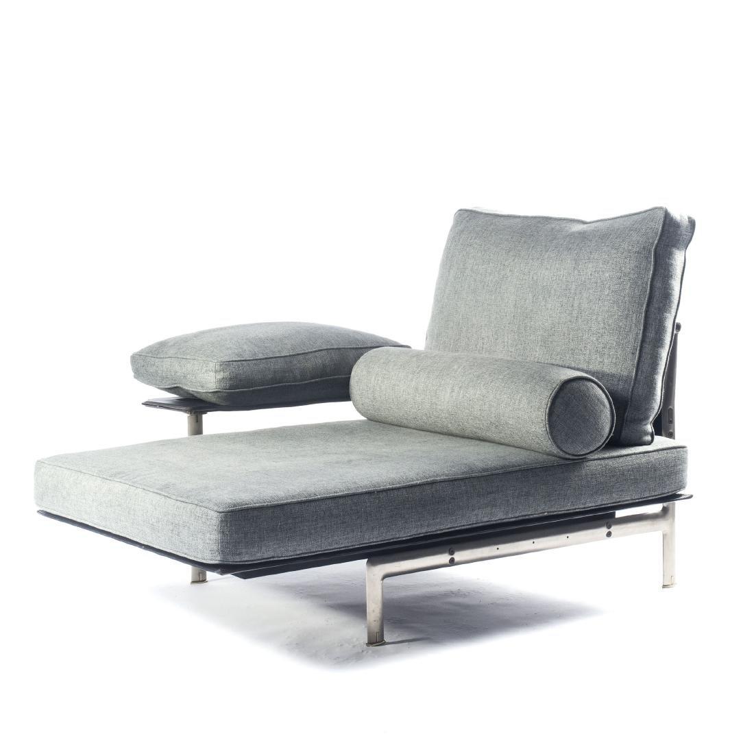 Two 'Diesis' long chairs, 1979
