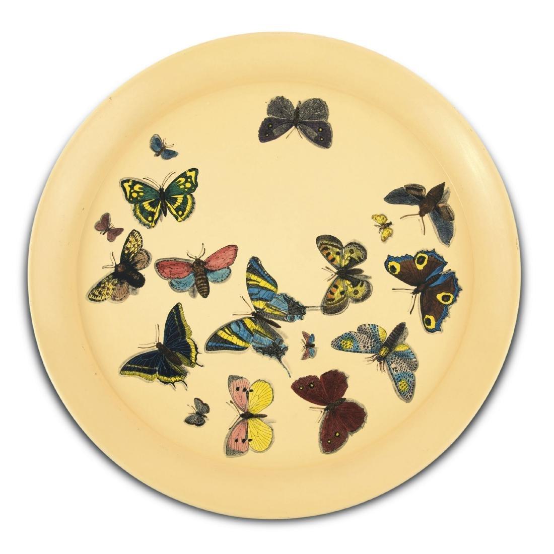 'Farfalle bianco' tray, 1950/60s