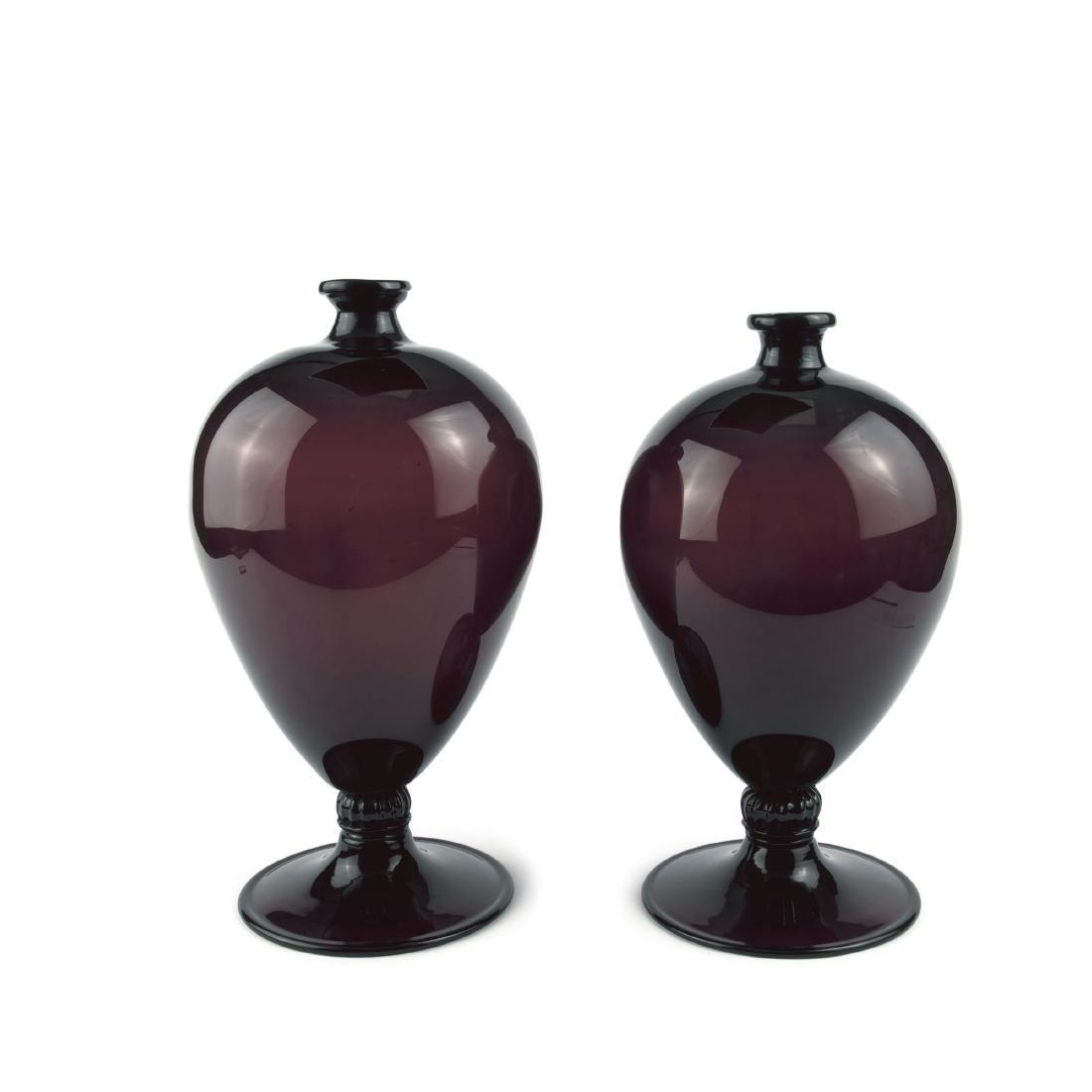Two 'Veronese' vases, 1921/22