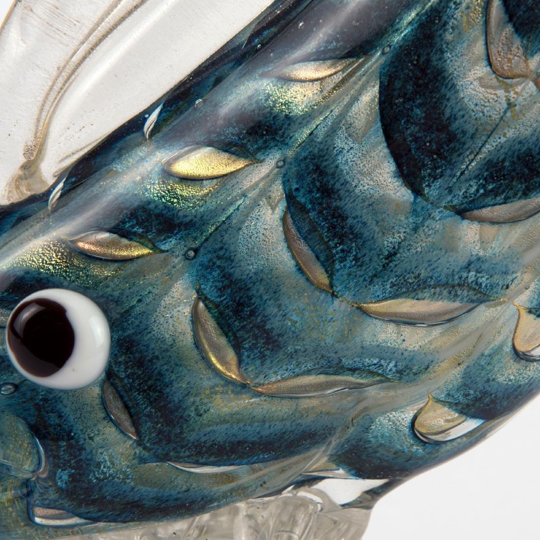 'Graffito barbarico' fish, 1969 - 3
