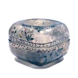 'Chvrefeuille' jar, 1890-95