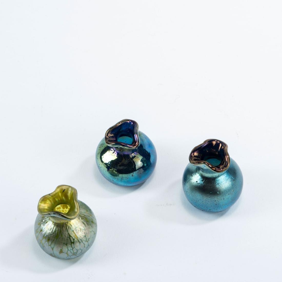 Three miniature vases, c1900 - 2
