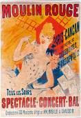 'Moulin Rouge - Paris CanCan', 1890