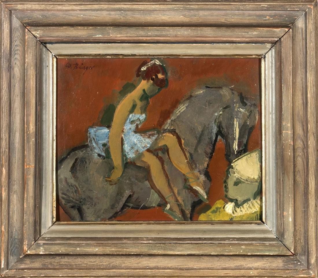 'Zirkus-Probe', 1950/60s