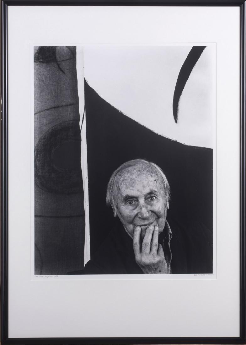 'Joan Miro, Majorca', 1979 (printed in the 1990s)