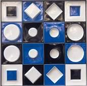 Porcelain relief, 1970s