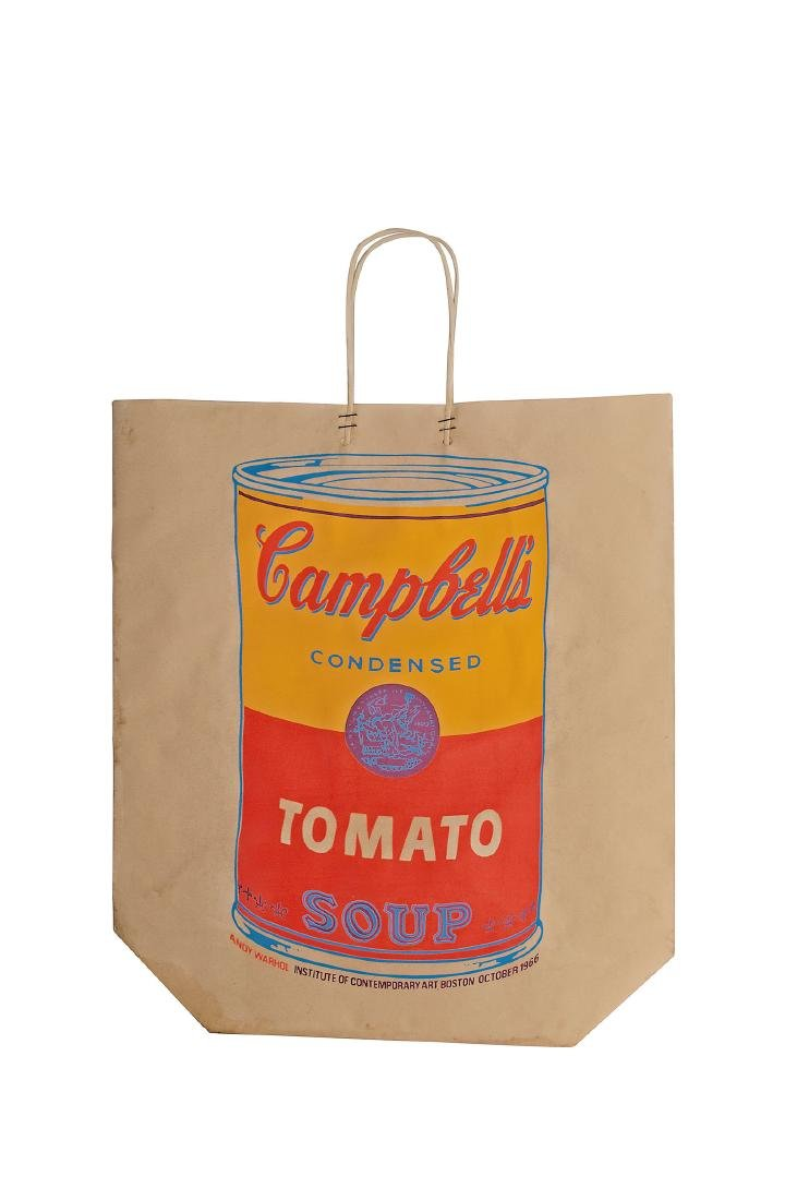 'Campbell's Soup Shopping Bag', 1966
