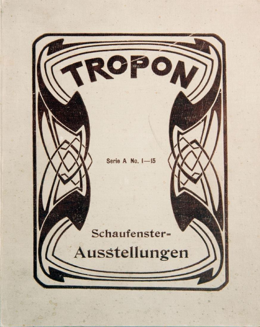 Catalogue 'Tropon Schaufenster-Ausstellungen', 1898