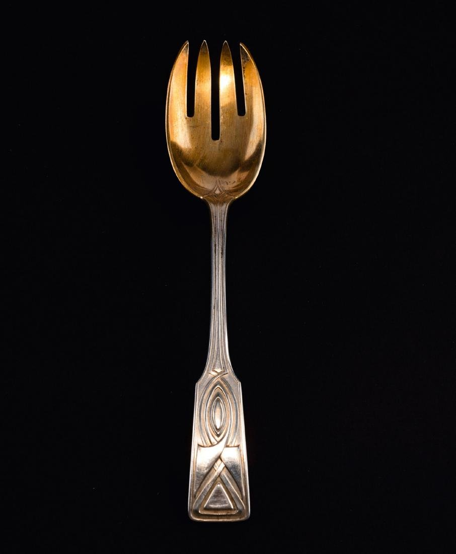 'House Behrens' serving fork, 1901