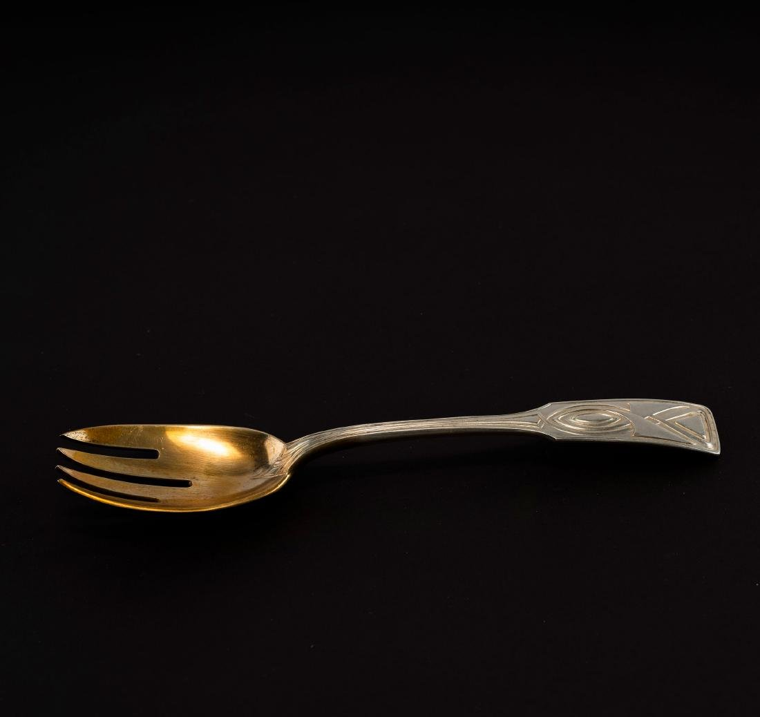 'House Behrens' serving fork, 1901 - 2