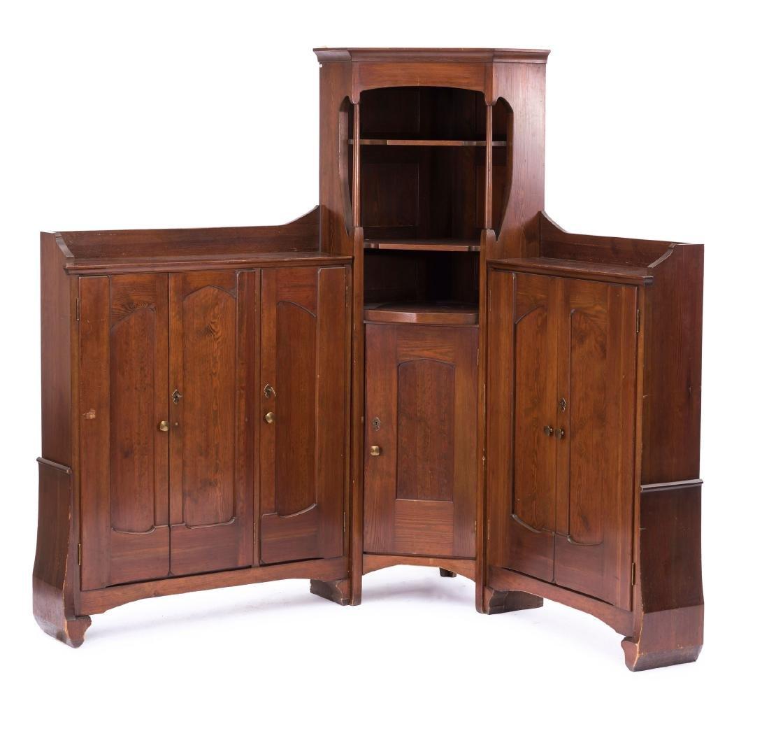Corner cabinet, c. 1902/03