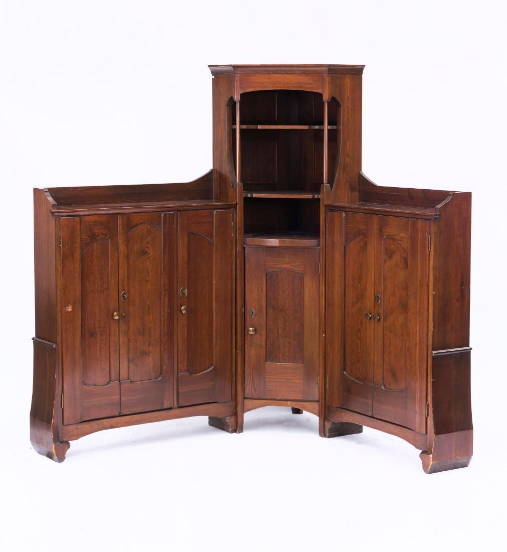 Corner cabinet, c. 1902/03 - 4