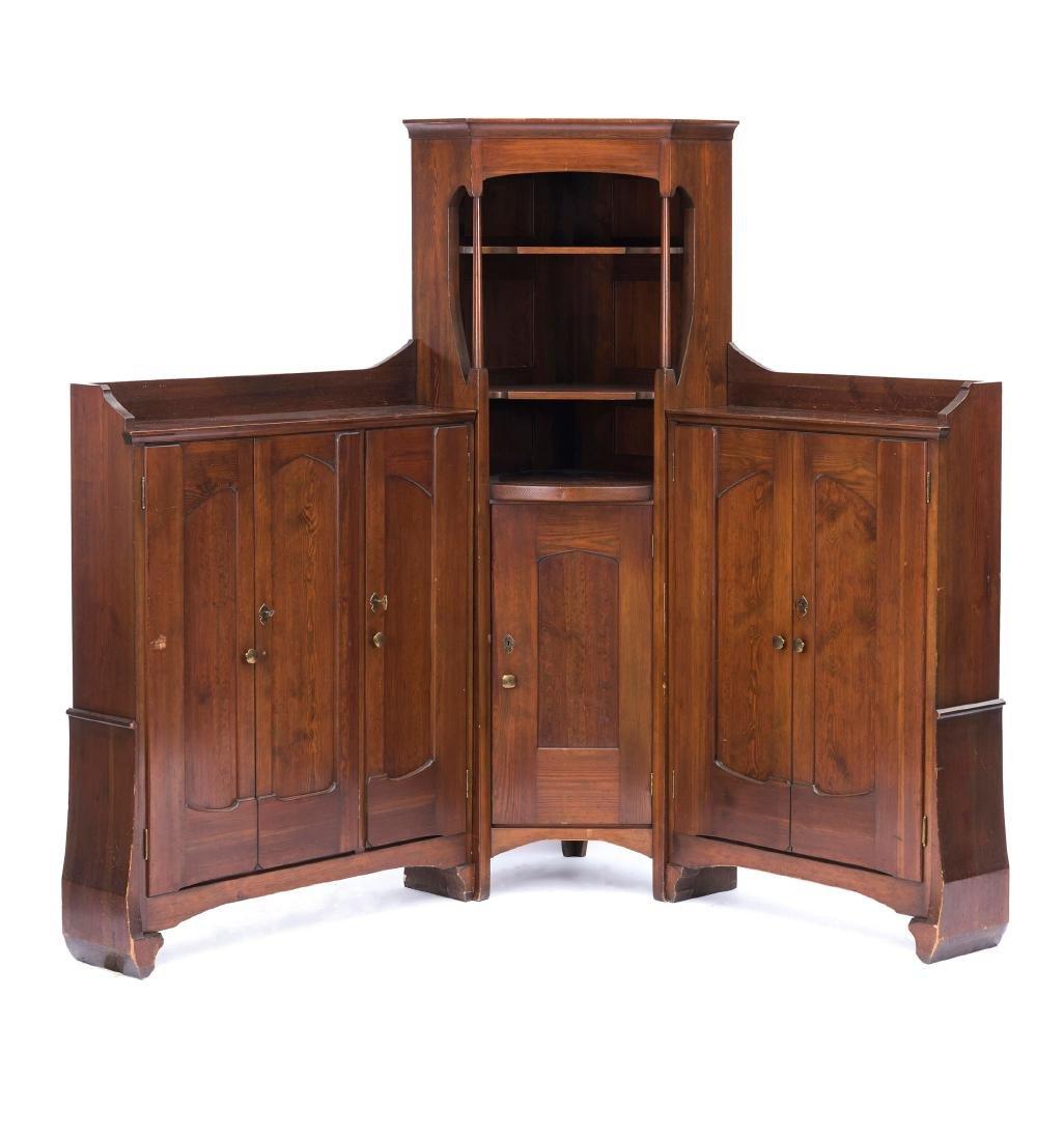 Corner cabinet, c. 1902/03 - 5
