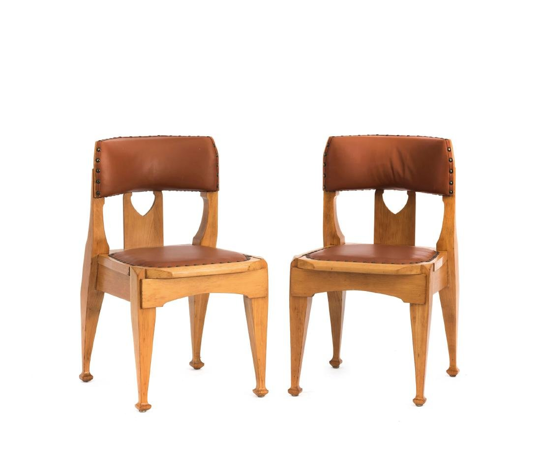 Two side chairs, c. 1903