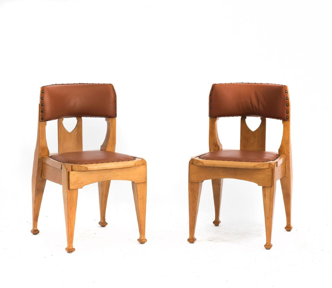 Two side chairs, c. 1903 - 2