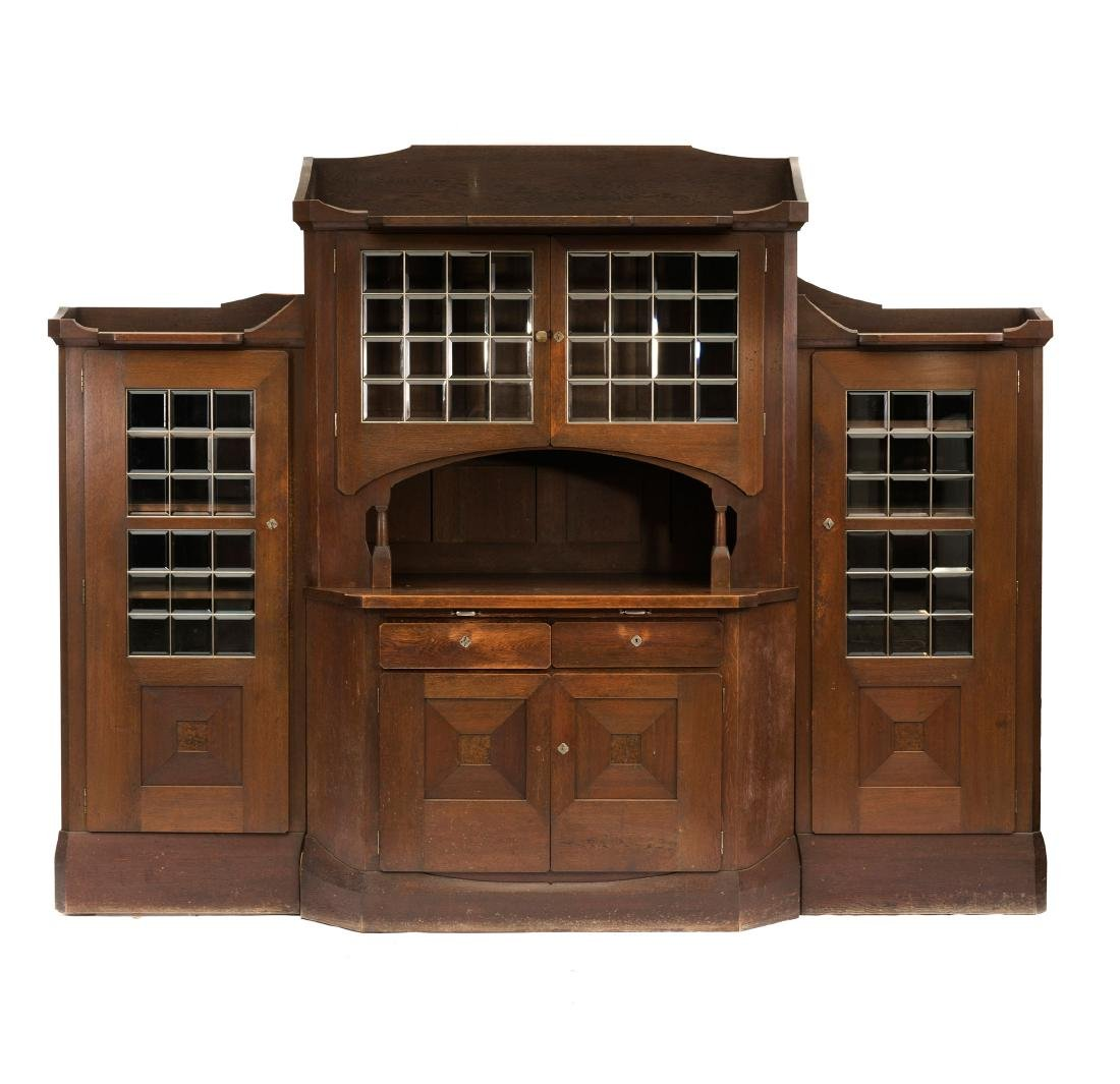 Credenza with two side cabinets, c. 1905/05