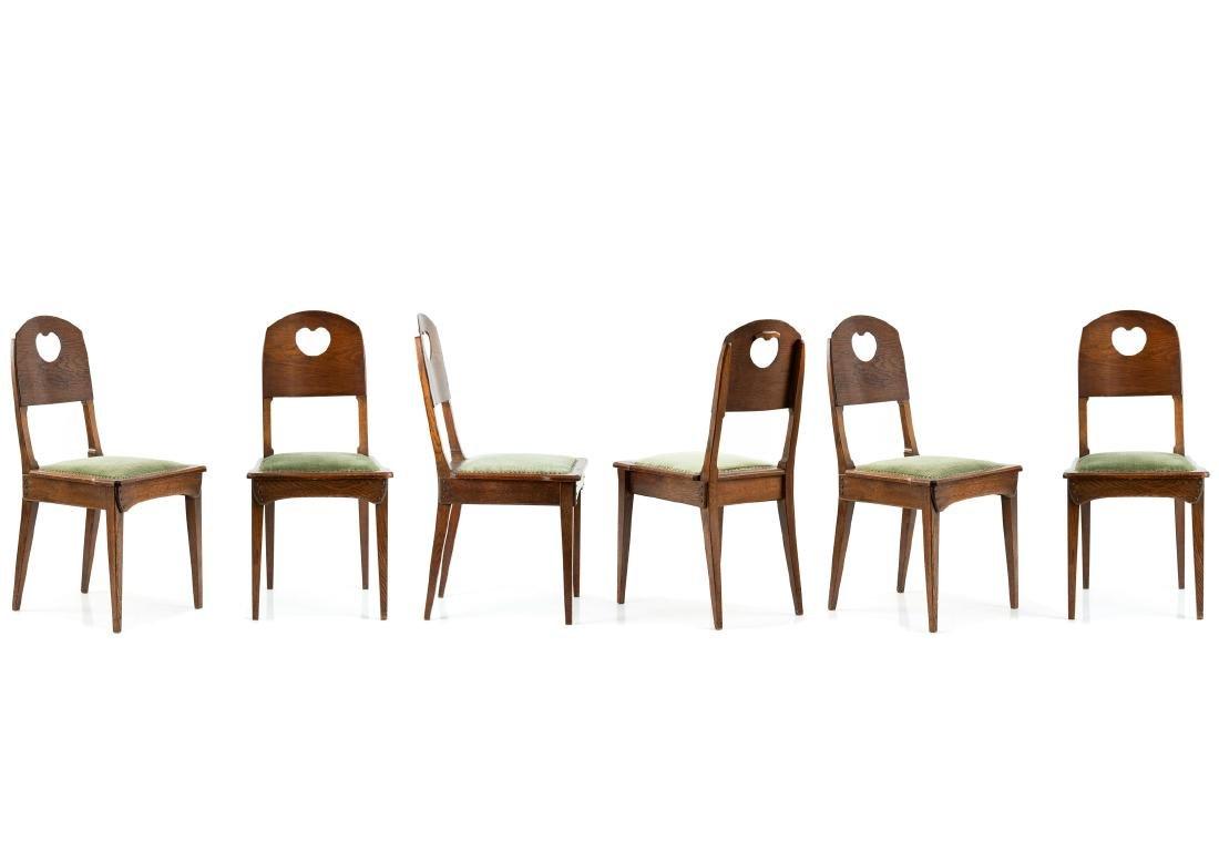 Six 'Interior' III' side chairs, 1905
