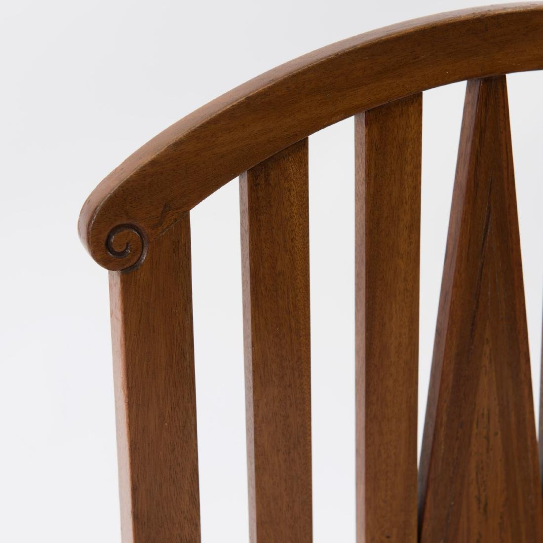 Six side chairs, designed for the designer's first - 4